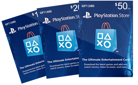 Picture for category PlayStation Gift Card