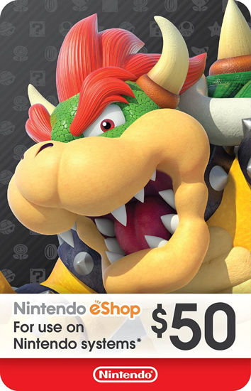 Picture of Nintendo eShop Gift Card $50 (Digital Code)