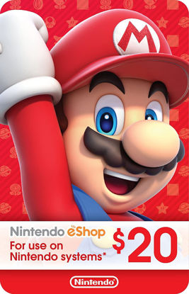 Picture of Nintendo eShop Gift Card $20 (Digital Code)