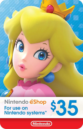 Picture of Nintendo eShop Gift Card $35 (Digital Code)