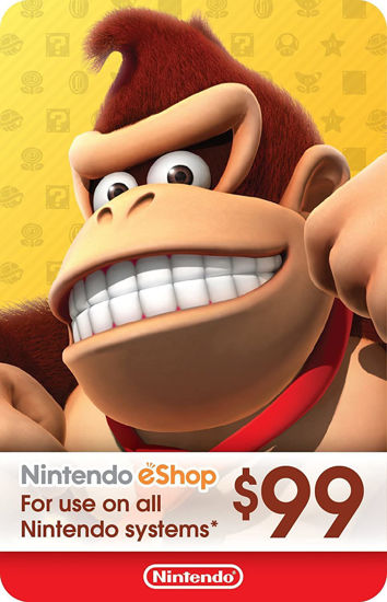Picture of Nintendo eShop Gift Card $99 (Digital Code)