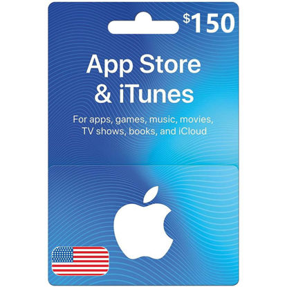 Picture of iTunes Gift Card $150 (Digital Code)