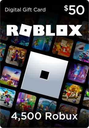 Picture of Roblox $50 Gift Card (4500 Robux)