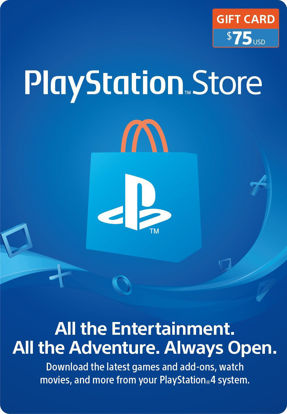 Picture of PlayStation Store $75 Gift Card (Digital Code)
