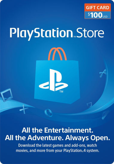 Picture of PlayStation Store $100 Gift Card (Digital Code)