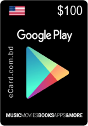 Picture of Google Play $100 Gift Card (US Only)