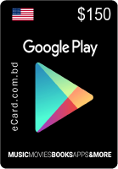 Picture of Google Play $150 Gift Card (US Only)