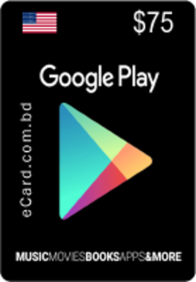 Picture of Google Play $75 Gift Card (US Only)