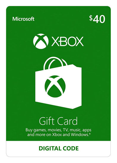 Picture of Xbox Gift Card $40 (Digital Code)