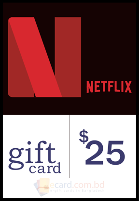 Picture of Netflix $25 Gift Card (US Region)