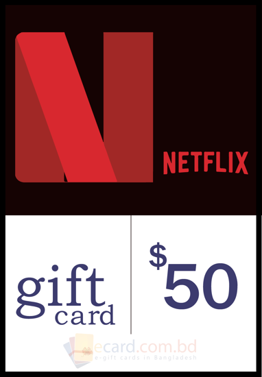 Picture of Netflix $50 Gift Card (US Region)
