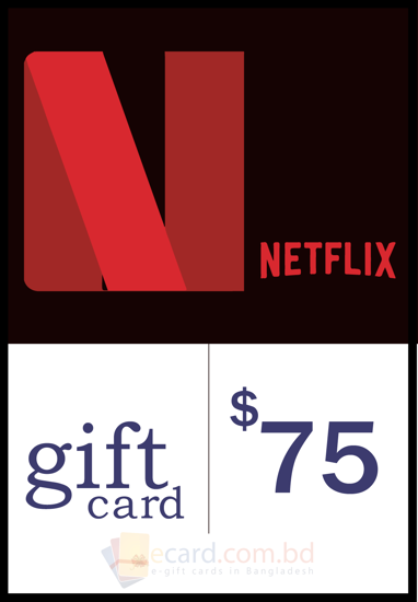 Picture of Netflix $75 Gift Card (US Region)