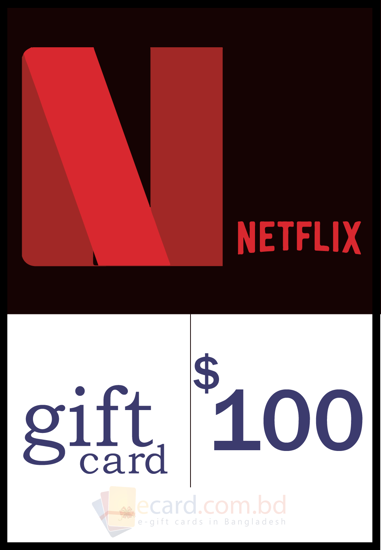 Picture of Netflix $100 Gift Card (US Region)