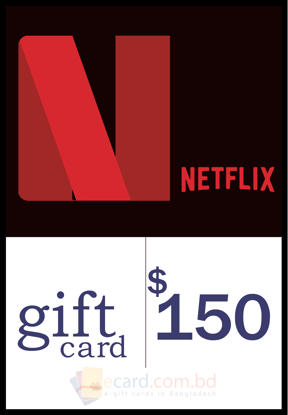 Picture of Netflix $150 Gift Card (US Region)