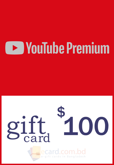 Picture of YouTube Gift Card $100 (US Only)