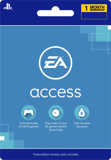 Picture of EA Access 1 Month (PS4 Digital Code)
