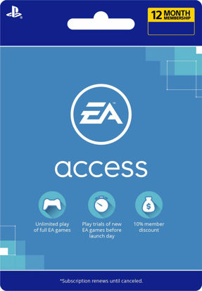 Picture of EA Access 12 Month Subscription (PS4 Digital Code)