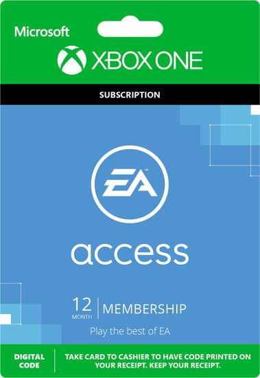Picture of EA Access 12 Month Subscription - Xbox One (Digital Code)