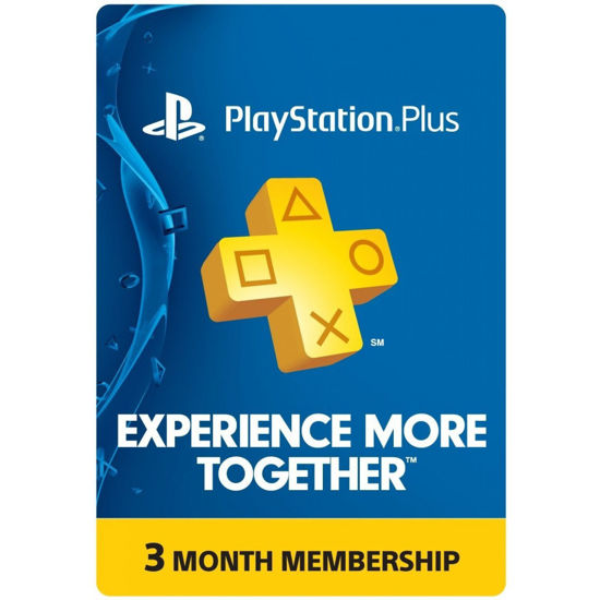 Picture of Playstation Plus 3 Month Membership (Digital Code)