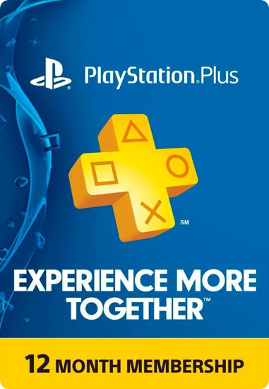 Picture of Playstation Plus 12 Month Membership (Digital Code)