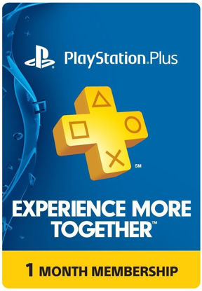 Picture of PlayStation Plus 1 Month Membership (Digital Code)