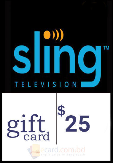 Picture of $25 Sling TV Gift Cards - Email Delivery