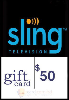 Picture of $50 Sling TV Gift Cards - Email Delivery