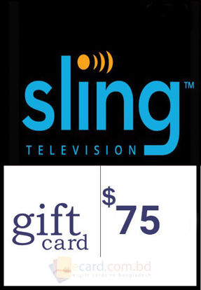 Picture of $75 Sling TV Gift Cards - Email Delivery