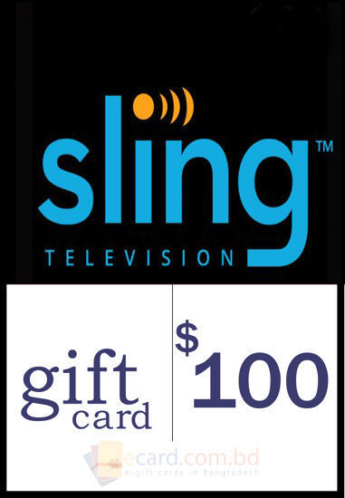 Picture of $100 Sling TV Gift Cards - Email Delivery