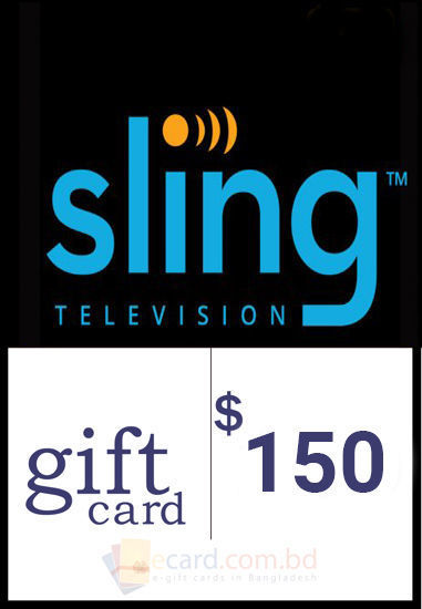 Picture of $150 Sling TV Gift Cards - Email Delivery