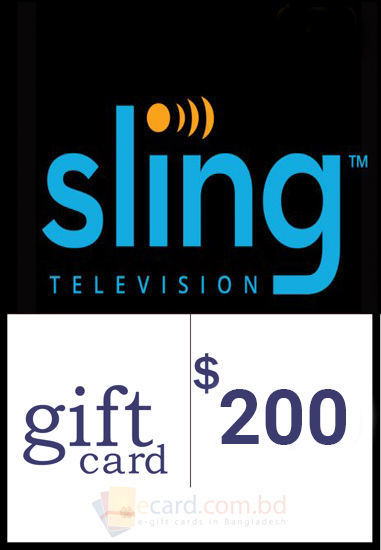 Picture of $200 Sling TV Gift Cards - Email Delivery