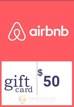 Picture of $50 Airbnb Gift Cards - Email Delivery