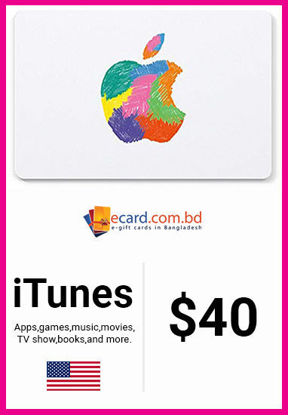 Picture of iTunes Gift Card $40 (Digital Code)