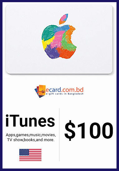 Picture of iTunes Gift Card $100 (Digital Code)