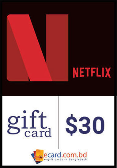 Picture of Netflix $30 Gift Card (Digital Code)