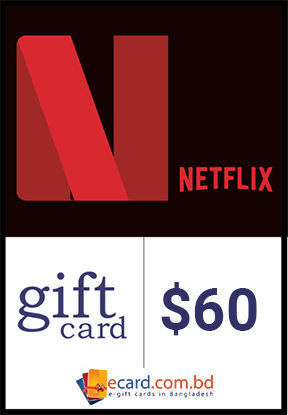 Picture of Netflix $60 Gift Card (Digital Code)