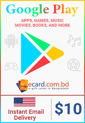 Picture of Google Play $10 Gift Card (US Only)