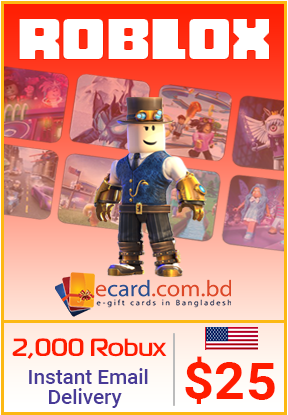 Picture of Roblox $25 Gift Card (Online Game Code)