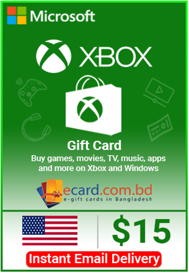 Picture of Xbox Gift Card $15 (Digital Code)