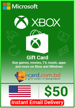 Picture of Xbox Gift Card $50 (Digital Code)