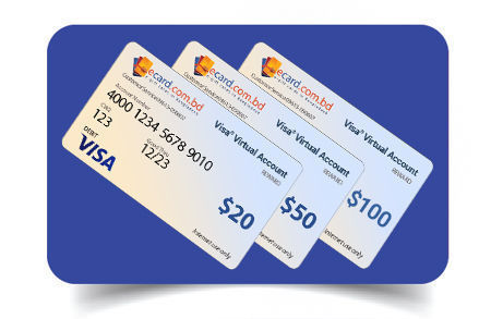 Picture for category Virtual VISA Cards
