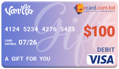 Picture of Vanilla VISA $100 Gift Card