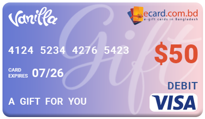 Picture of Vanilla VISA $50 Gift Card