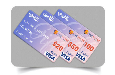 Picture for category Vanilla VISA Cards