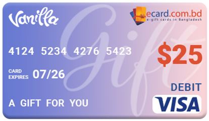 Picture of Vanilla VISA $25 Gift Card